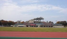 2013松任ロードレース大会が開催された松任総合運動公園陸上競技場